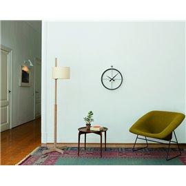 Nomon 2 Puntos N wall clock