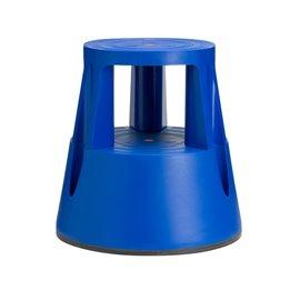 TWIN LIFT fellépő görgős zsámoly, kék
