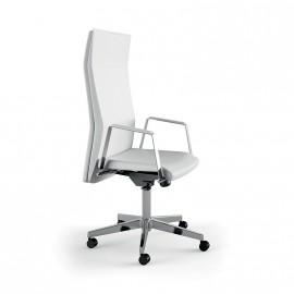 Athena vezetői irodai szék, fix karfával