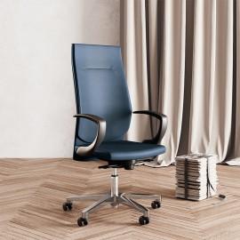 Galassia vezetői irodai szék, fix karfával