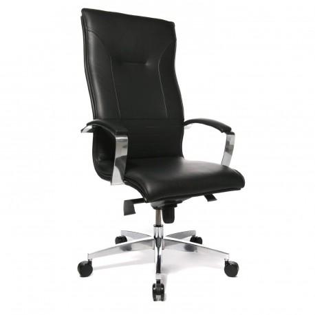 Topstar Lean On 5 vezetői szék, fekete bőr