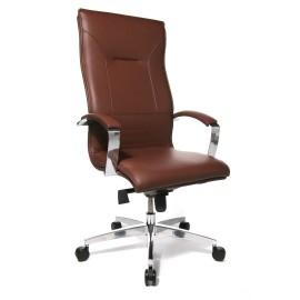 Topstar Lean On 5 vezetői szék, sötétbarna bőr