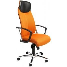 Topstar High Sit Up vezetői szék, fix karfával, narancssárga