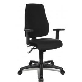 Topstar P90 szinkronmechanikás irodai szék, antracit