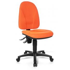 Topstar Point 20 irodai forgószék, narancssárga