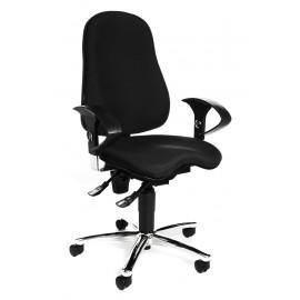 Topstar Sitness 10 irodai szék, fekete