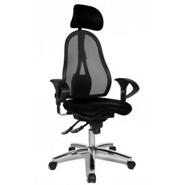 Topstar Sitness 45 irodai szék, fekete