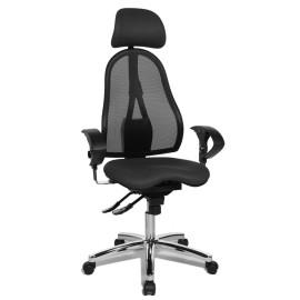 Topstar Sitness 45 irodai szék, sötétszürke
