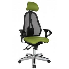 Topstar Sitness 45 irodai szék, zöld