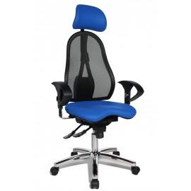 Topstar Sitness 45 irodai szék, kék