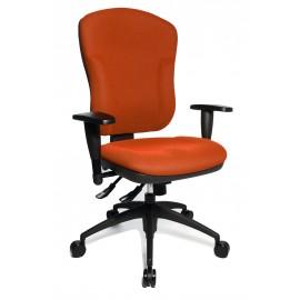 Topstar Wellpoint 30 SY irodai forgószék, narancssárga