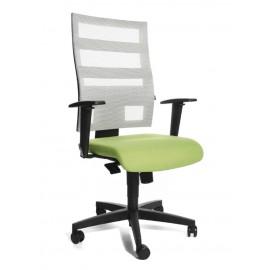 Topstar X-Pander irodai forgószék, zöld-fehér