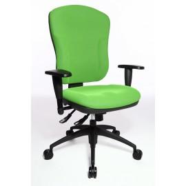 Topstar Wellpoint 30 SY irodai forgószék, zöld