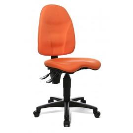 Topstar Point 40 irodai forgószék, narancssárga