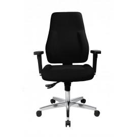 Topstar P91 szinkronmechanikás irodai szék, fekete