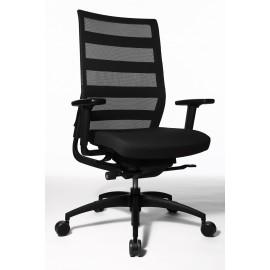 Wagner ErgoMedic 100-1 vezetői szék, fekete
