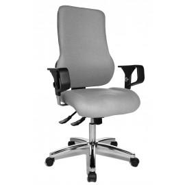 Topstar Sitness 55 irodai szék, világosszürke