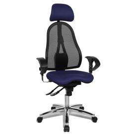 Topstar Sitness 45 irodai szék, sötétkék