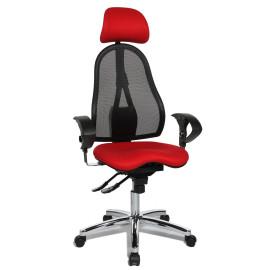 Topstar Sitness 45 irodai szék, piros