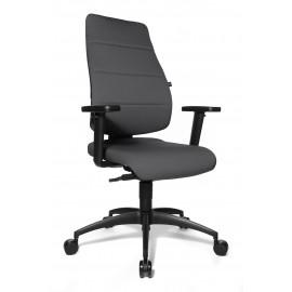 Topstar Synchro Soft Plusz irodai forgószék, szürke
