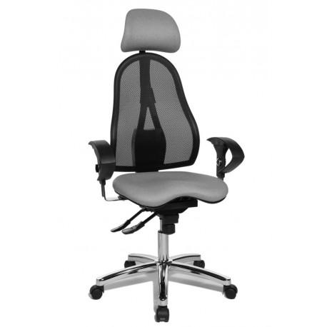 Topstar Sitness 45 irodai szék, világosszürke
