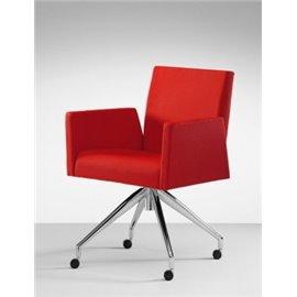 Mascagni Lounge ügyfélváró szék, görgős