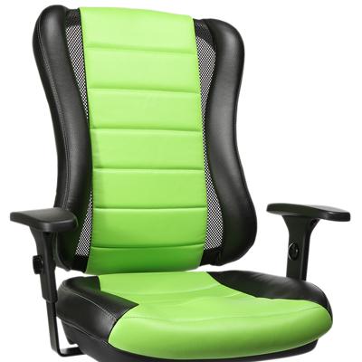 S105 fekete-zöld (80% pamut + 20% PU)